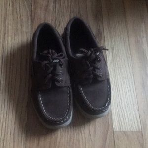 EUC Sperry Boys Billfish Boat Shoes size 13 W